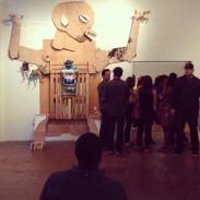 Installation at Betti Ono Art space, Oakland CA